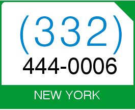 (332) 444 0006